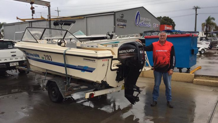 Kingcraft - Mercury 60hp EFI Four Stroke
