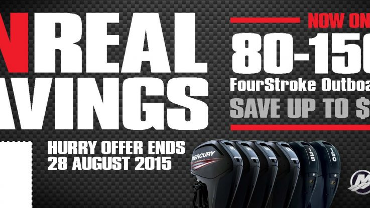 Mercury Promotion on Outboards