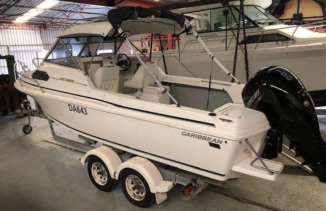 Caribbean Reef Runner - Mercury 150hp EFI Four Stroke