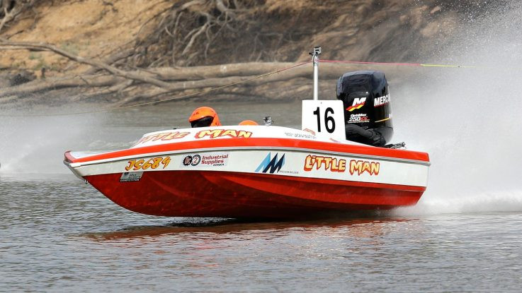 Mercury engines lead at Southern 80