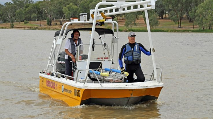 Rescue 1 repowered with Mercury FourStroke